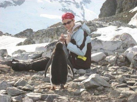 Michelle Jewell penguins of Antarctica