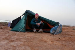 Michelle Jewell in Mauritania